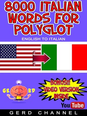 cover image of 8000 Italian Words for Polyglot