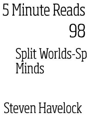 cover image of Split Minds/Split Worlds