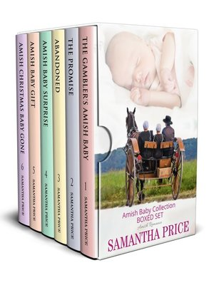 cover image of Amish Baby Collection Boxed Set