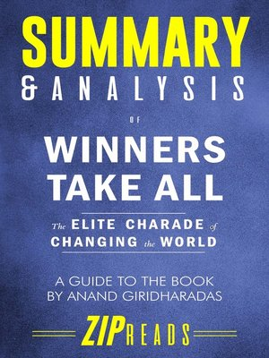 cover image of Summary & Analysis of Winners Take All