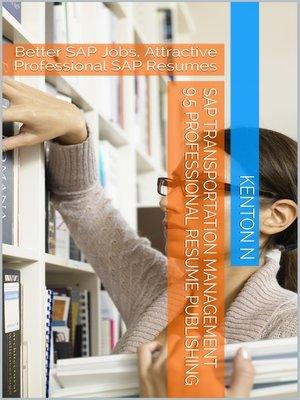 cover image of SAP Transportation Management 9.5 Professional Resume Publishing