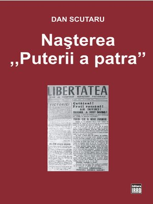 cover image of NASTEREA  PUTERII a PATRA