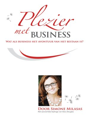 cover image of Plezier met Business