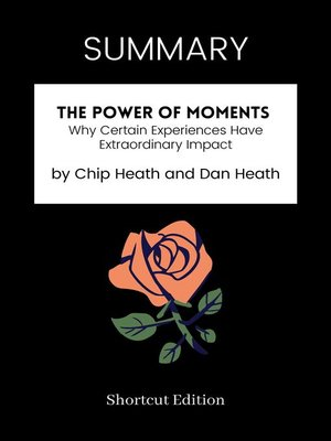 cover image of SUMMARY--The Power of Moments