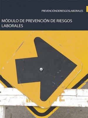 cover image of Módulo de Prevención de riesgos laborales
