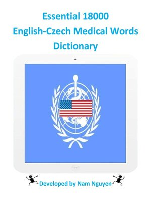 cover image of Essential 18000 English-Czech Medical Words Dictionary