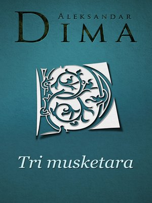 cover image of Tri musketara