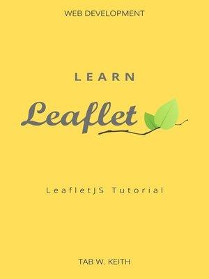 cover image of Learn LeafletJS