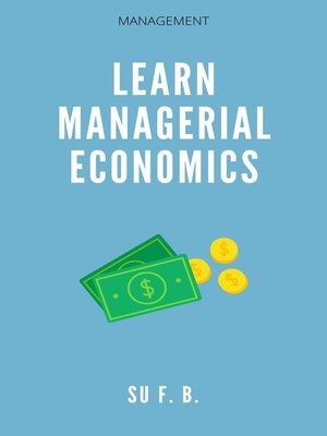 cover image of Learn Managerial Economics