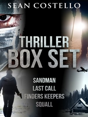 cover image of Sean Costello Thriller Box Set