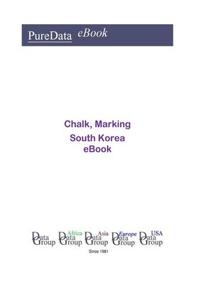 cover image of Chalk, Marking in South Korea