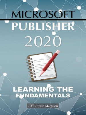 cover image of Microsoft Publisher 2020