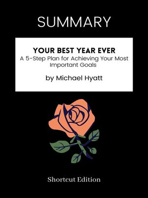 cover image of SUMMARY--Your Best Year Ever
