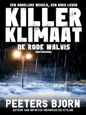 cover image of De Rode Walvis