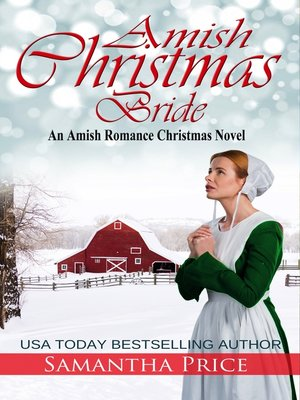 cover image of Amish Christmas Bride