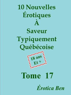 cover image of Érotica Ben le dix-septième