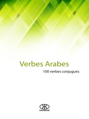 cover image of Verbes arabes