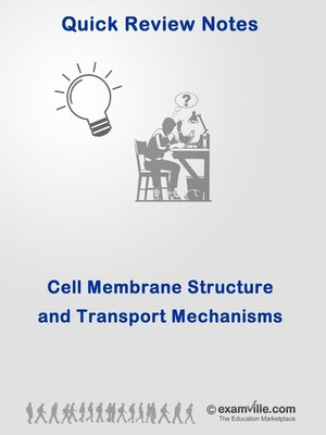 cover image of Cell Membrane Structure & Transport Mechanisms--Quick Review & Outline