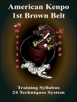 cover image of American Kenpo 1st Belt Training Syllubus