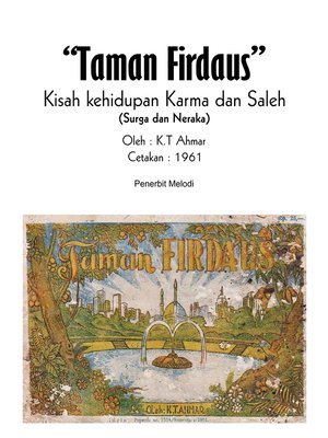 cover image of Komik Taman Firdaus Kisah Kehidupan Karma Dan Saleh (Surga & Neraka)
