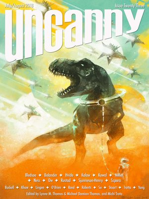 cover image of Uncanny Magazine Issue 23