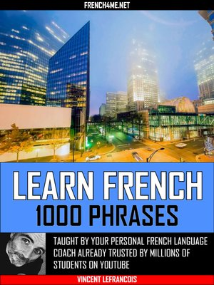 cover image of Learn French in Charlotte--1000 Phrases--Volume 1