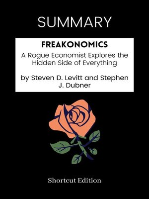 cover image of SUMMARY--Freakonomics