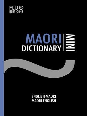 cover image of Maori Mini Dictionary