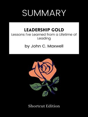 cover image of SUMMARY--Leadership Gold