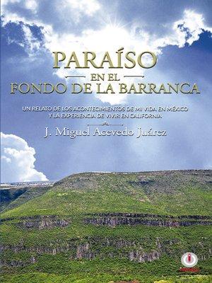 cover image of Paraíso en el fondo de la barranca