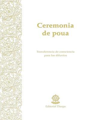cover image of Ceremonia de poua