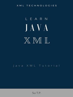 cover image of Learn Java XML