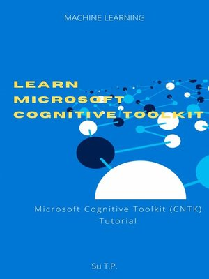 cover image of Learn Microsoft Cognitive Toolkit