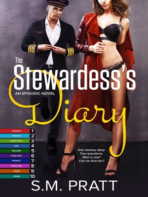 cover image of The Stewardess's Diary