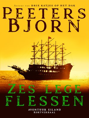 cover image of Zes Lege Flessen