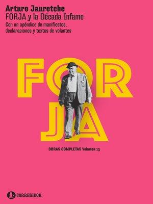 cover image of FORJA y la década infame