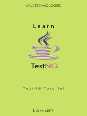 cover image of Learn TestNG