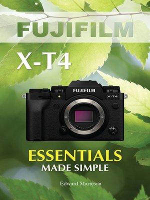 cover image of Fujifilm X-T4