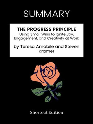 cover image of SUMMARY--The Progress Principle