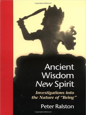 cover image of Ancient Wisdom, New Spirit