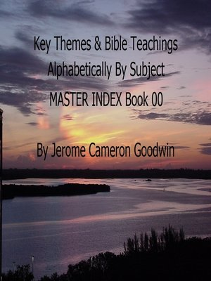 cover image of MASTER INDEX-- Key Themes by Subjects