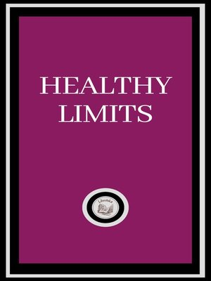cover image of HEALTHY LIMITS