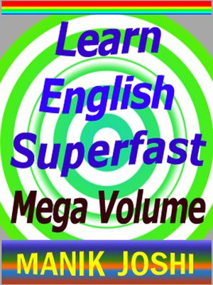 cover image of Learn English Superfast--Mega Volume