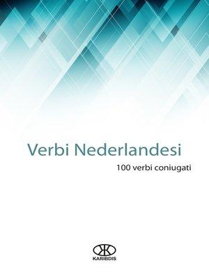 cover image of Verbi nederlandesi