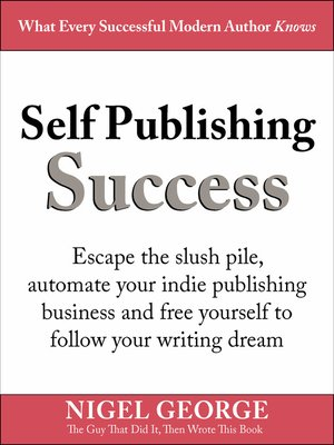 cover image of Self Publishing Success