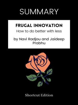 cover image of SUMMARY--Frugal Innovation