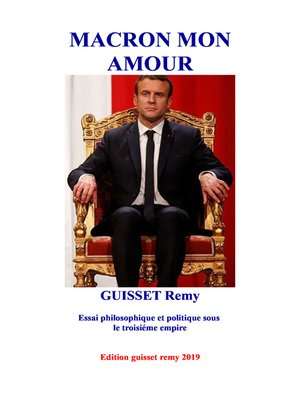 cover image of Macron mon amour