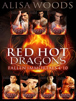 cover image of Red Hot Dragons Box Set