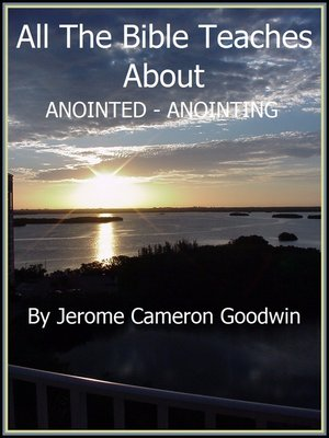 cover image of ANOINTED--ANOINTING