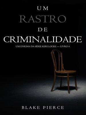 cover image of Um Rastro de Crime